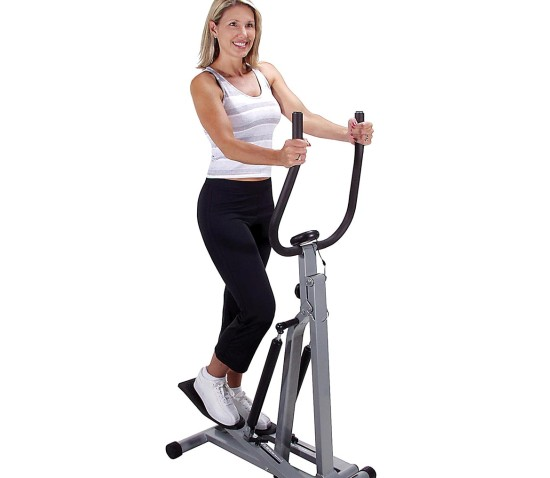 benefit by using a stepper